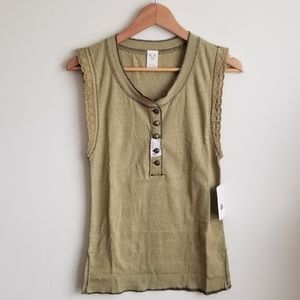 Free People Tops - Free People We the Free Last Stop Tank Top Small